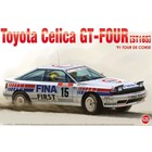Platz Models . PLZ 1/24 Toyota Celica GT-Four ST165 '91 Tour de Corse