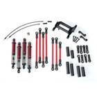 Traxxas Corp . TRA Traxxas Long Arm Lift Kit, TRX-4, complete (includes red powder coated links, red-anodized shocks)