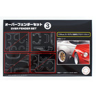 Fujimi Models . FUJ 1/24 Overfender Set 3