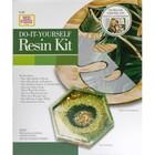Plaid (crafts) . PLD Mod Podge Do-It-Yourself Resin Tropical Leaf Kit