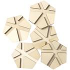 Plaid (crafts) . PLD Mod Podge Hex River Pouring Coasters 5/Pkg