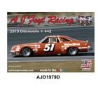 Salvinos Jr Models . SJM 1/24 Aj Foyt Racing 1979 Oldsmobile 442