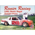 Salvinos Jr Models . SJM 1/25 Rainer Racing 1981 Buick Regal Chatlotte Hardees
