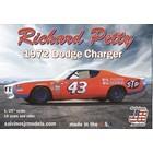 Salvinos Jr Models . SJM 1/25 1972 Richard Petty Dodge Charger