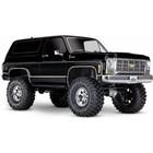 Traxxas Corp . TRA Traxxas TRX4 1979 Chevy Blazer 1/10 crawler, XL-5 HV, Titan 12T Black