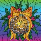 Leisure Arts . LSA Diamond Art Pinecone Wreath