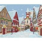 Leisure Arts . LSA Diamond Art Snowy Village Square