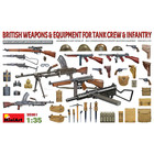 Miniart . MNA 1/35 British Weapons & Equipment For Tank Crew & Infantry