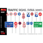 Miniart . MNA 1/35 Traffic Signs. Syria 2010'S