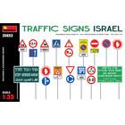 Miniart . MNA 1/35 Traffic Signs. Israel