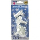 PME Crafts . PME SNOWFLAKE PLUNGER CUTTERS, 3 PIECE SET