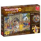 Jumbo Puzzles & Accs . JUM 1000 PCS, WASGIJ ORIGINAL RETRO #4, A DAY TO REMEMBER
