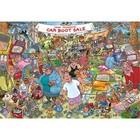 Jumbo Puzzles & Accs . JUM 1000 PCS, WASGIJ ORIGINAL #35, CAR BOOT CAPERS