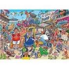 Jumbo Puzzles & Accs . JUM 1000 PCS, WASGIJ ORIGINAL #37, HOLIDAY FIASCO