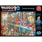 Jumbo Puzzles & Accs . JUM 1000 PCS, WASGIJ MYSTERY #21, TROUBLE BREWING