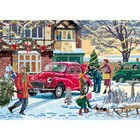Falcon Deluxe Puzzles . FLD FAMILY TIMES AT CHRISTMAS