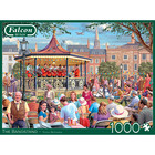 Falcon Deluxe Puzzles . FLD 1000pcs The Bandstand