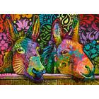 Heye Puzzles. HEY 1000pcs Jolly Pets Donkey Love