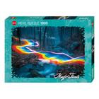 Heye Puzzles. HEY 1000pcs Magic Forests Rainbow Road