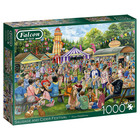 Falcon Deluxe Puzzles . FLD 1000pcs Sausage And Cider Festival
