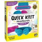 Creativity for kids . CFK Quick Knit Headbands