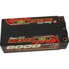 GENS ACE . GNA Gens Ace - 714 - 6000mAh 7.6V 130C 2SP Hard Case HV Shorty Lipo Battery Pack with 5mm Bullet 96x46x25mm ROAR Approved