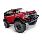 Traxxas Corp . TRA Traxxas TRX4 scale and Trail 2021 Ford Bronco 1/10 Crawler, XL-5 HV, Titan 12T - Red