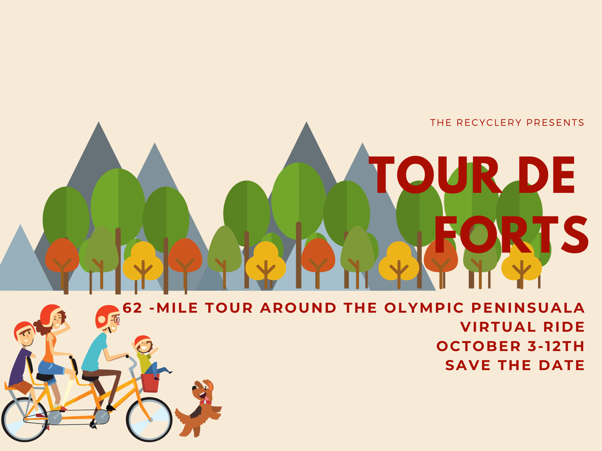 Tour de Forts Save the Date