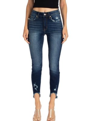Kancan B. High Rise Ankle Skinny Jean