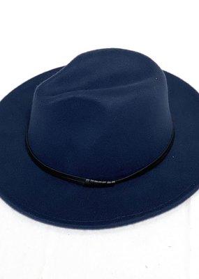 Mother Hustler, LLC Fedora Hat-Navy