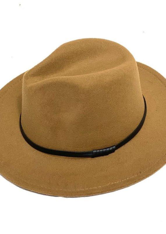 Mother Hustler, LLC Fedora Hat-Camel