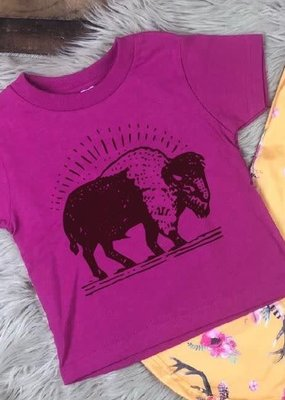 Mother Hustler, LLC Toddler Buffalo Tee