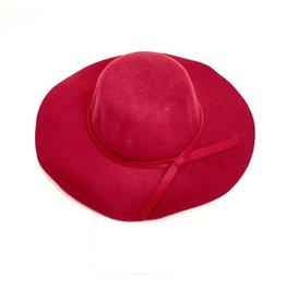 Mother Hustler, LLC Flirty Floppy Hat-Maroon