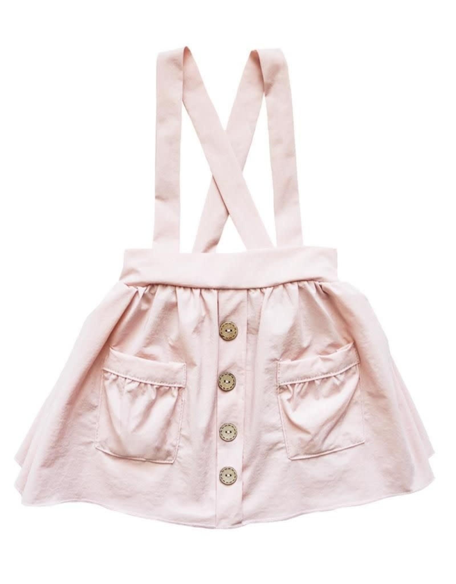 Bailey's Blossoms Daphne Suspender Skirt-Pink