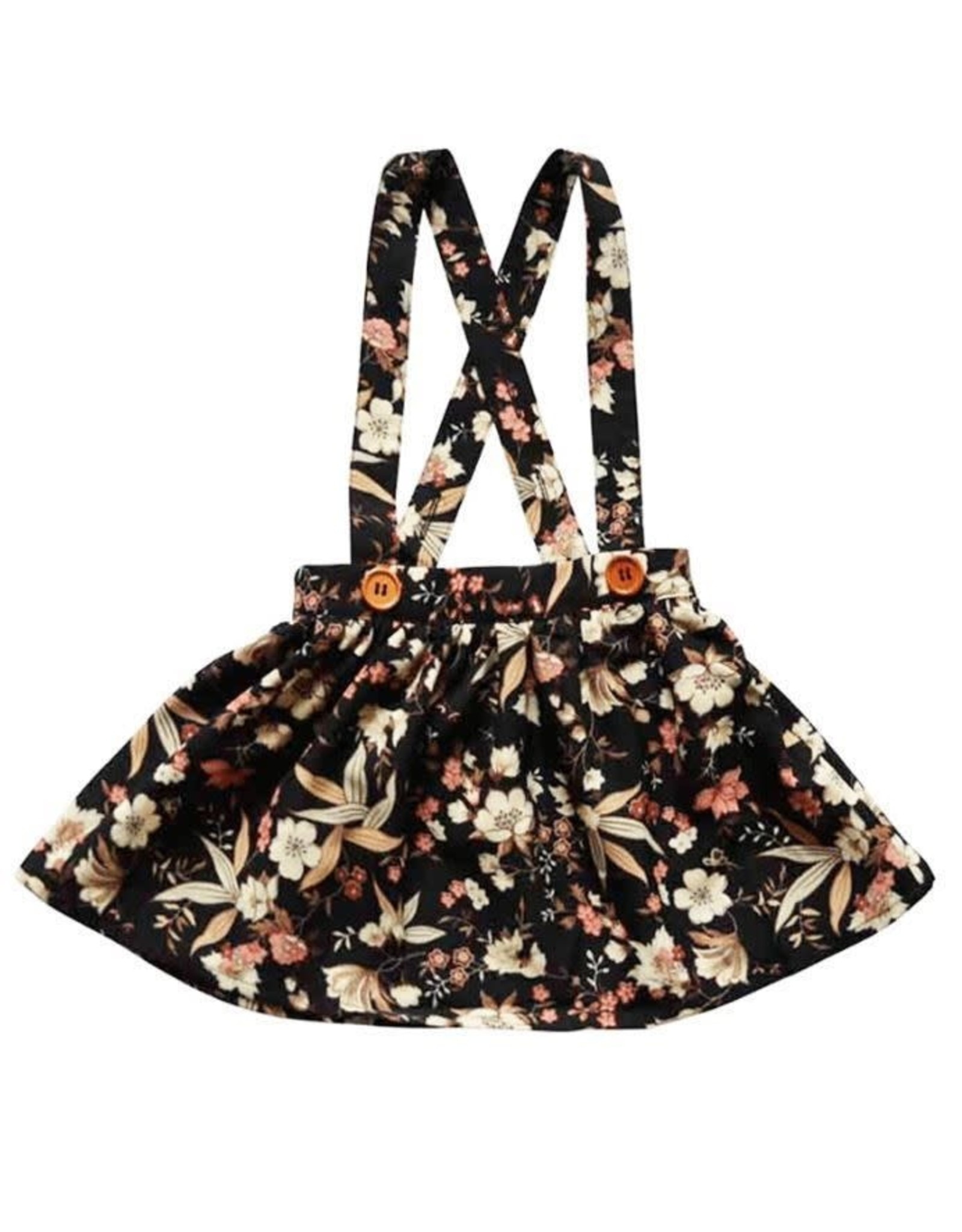 Bailey's Blossoms Daphne Suspender Skirt-Floral