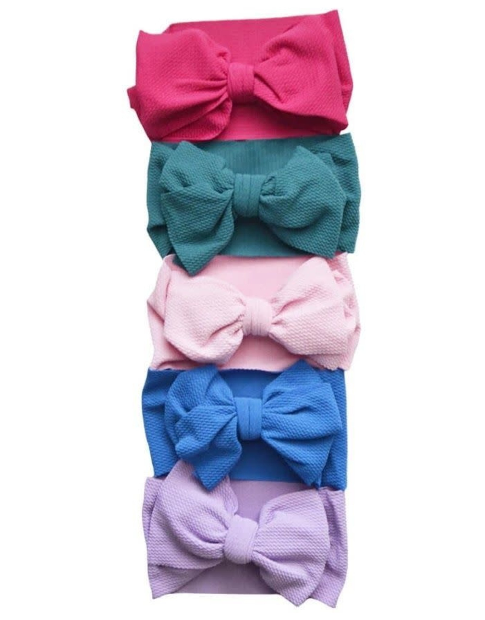 Bailey's Blossoms Messy Bow Headwrap