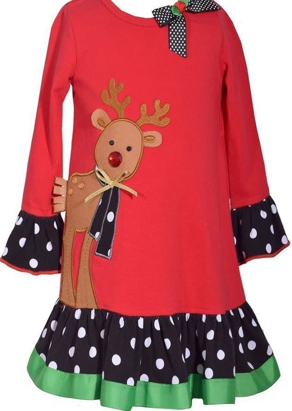 Bonnie Jean Santa Float Dress