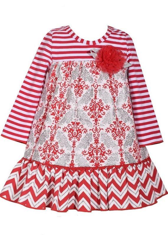 Bonnie Jean Strip To Medlin Empire Dress