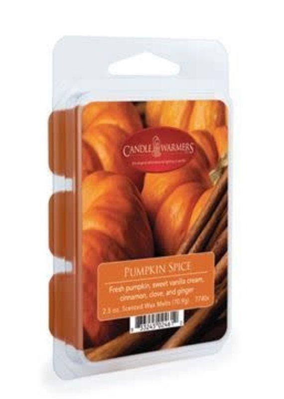 Candle Warmers 2.5 Oz Wax Melts-Pumpkin Spice