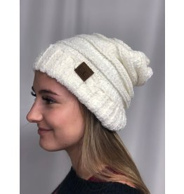Cheveux Corp Oversized Chenille Beanie