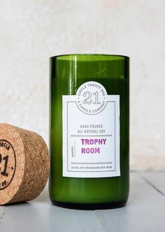 Circle Twenty One Trophy Room Candle