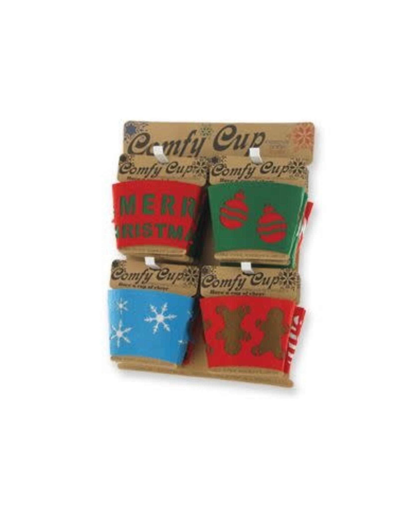 DM Merchandising Christmas Felt Drink Sleeves
