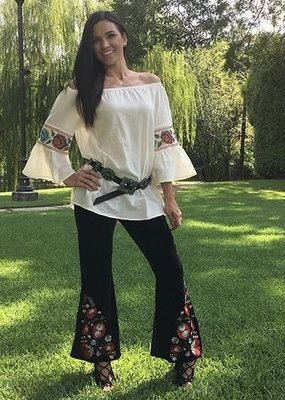 Fashion Express Off the Shoulder Top