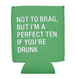 About Face Designs Perfect Ten Koozie