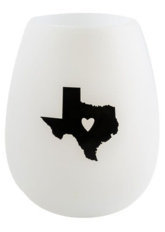 About Face Designs Texas Silicone Wine Cup