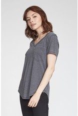 Another Love Another Love Phoenix Top- Charcoal