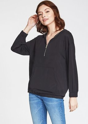 Another Love Georgie Sweatshirt- Black