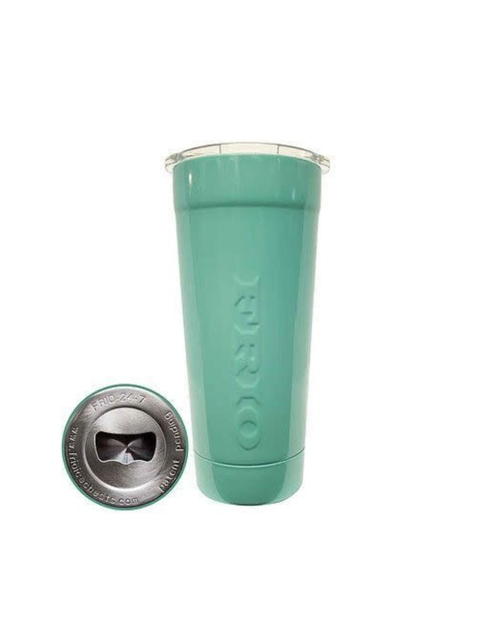 Frio Ice Chests Frio Ice Chests Frio 24-7 Cup w/ Powder Coat- Seafoam