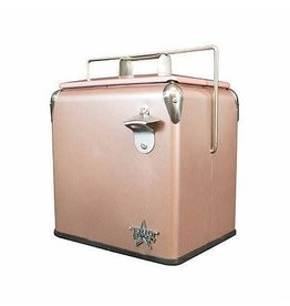 Frio Ice Chests Frio Retro w/ Powder Coat Finish- Rose Gold