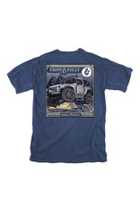 Fripp & Folly On The Rocks T-Shirt - Navy